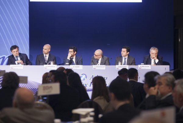 I. Stavropoulos and other colleagues at the 13th Athens Tax Forum, organized by the American-Hellenic Chamber of Commerce, April 2017